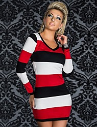 Women's Dresses , Polyester Casual/Work Amves