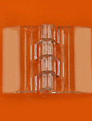 33mm × 25mm Transparent Polymethyl Methacrylate Door Hinge