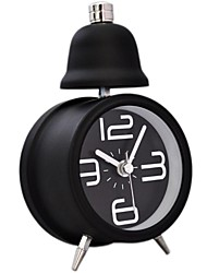 Timess™  Little Single Bell Night-light Mute Alarm Clock