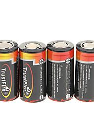 TrustFire 25500 4000mAh da bateria com proteção de sobrecarga (4 peças)