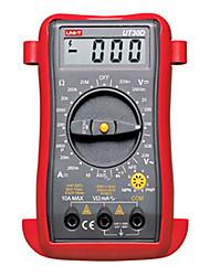 UNI-T UT30D Ручной ЖК-цифровой мультиметр AC DC Вольт Ампер Ом тестер