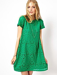 Women's Dresses , Lace Casual/Work La mode