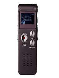 Co-crea 16GB 650hr Digital Voice Recorder with MP3 WMA