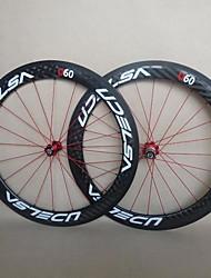 udelsa 20.5mm Wide Super céramique des moyeux de roulement R13 roues carbone 60mm pneu vélo roues f: 20h r: 24h