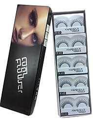 10 pairs coolflower false eyelashes cf-9
