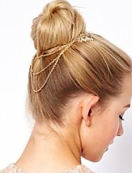Les coiffes de la chaîne d'alliage de femmes