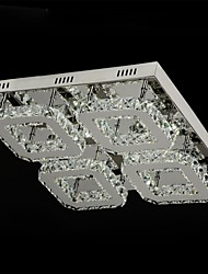 Modern LED K9 Crystal Ceiling