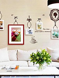 Photo Frame Collection Set of 5 with Wall Sticker 04