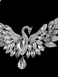 Women's Rhinestone/Imitation Pearl Jewelry Set