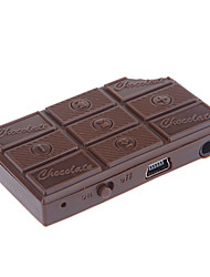 Lector de tarjetas TF chocolate MP3 Player Mini Stereo