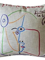 Эскиз цвет девушка декоративным покрытием Подушка