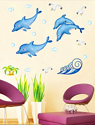 Dolphin modello Wall Sticker (1PCS)