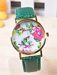 Omiya Women's PU Leather Wrist Watch DSC_0229