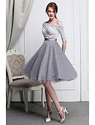 Alta oscilación de la falda de la cintura de la burbuja de la Mujer
