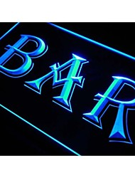 bar de cerveza signo luz de neón