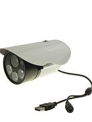 Coomatec impermeável ao ar livre 720P H.264 Micro SD Card CCTV Camera