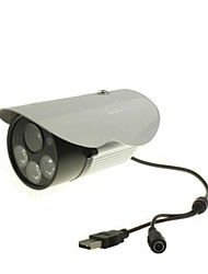 Coomatec Outdoor Waterproof 720P H.264 Micro SD Card CCTV Camera