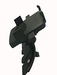 360 graden rotatie Auto-cd Port Holder Stand Beugel voor telefoon / navigatie - Zwart