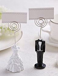 Place Cards and Holders Tuxedo&Gown Resin Place Card Holder