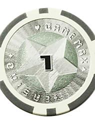 Puces $ 1 pentagramme abs de mahjong jouets de divertissement