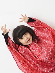 bearcat ® astros infantis cape capa de chuva capa leve de 500 gramas com 5000 índice impermeável (azul / vermelho)