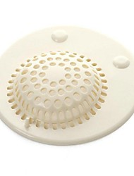 The Bathroom Floor Drain Filters The Silicone White