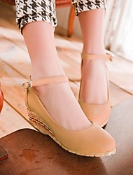 Women's Wedge Heel Round Toe Boats Shoes (More Colors)