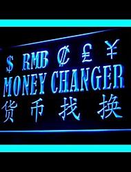 publicidade de troca da moeda levou sinal de luz