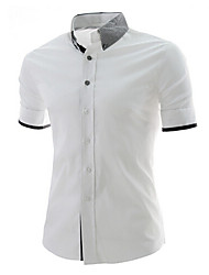 Men's Tops & Blouses , Cotton Bodycon/Casual MT