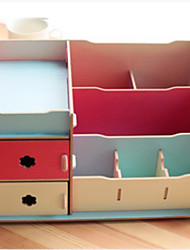 "11.6""Simple Korean Style Cosmetic Storage Box"