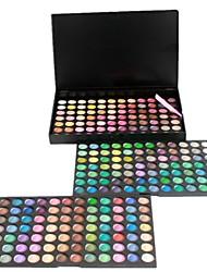 252 Palette di ombretti Secco / Satinato Gamma di colori dell'ombretto Cipria Grande Trucco giornaliero / Trucco per feste / Trucco smokey