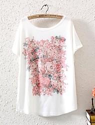 Camiseta (Poliéster) Con Estampado Opaco