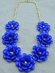 Declaração de amor puro das mulheres do colar de flores