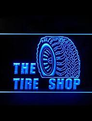 Tire Shop Advertising LED Light Sign