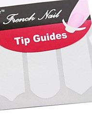 3 Mixed Patterns French Nail Tip Guides