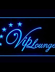 VIP Lounge Advertising LED Light Sign