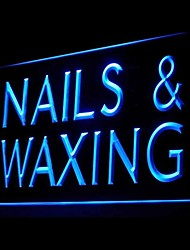 Nails Waxing Beauty Advertising LED Light Sign