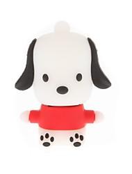 cão dos desenhos animados zp drive flash caráter usb 16gb