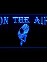 Il Segno Air microfono Pubblicità Light LED