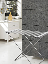 120W Towel Warmer Aluminum Anodizing Free Standing Drying Rack