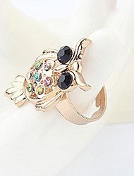 Tiffany Western Vintage Characteristic Owl Ring