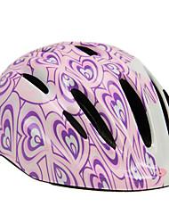 limar149 14 roxo integralmente moldado capacete ciclismo aberturas crianças (50-57 centímetros)