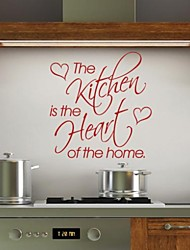 JiuBai™  Kitchen Word Quote Art Wall Sticker Wall Decal