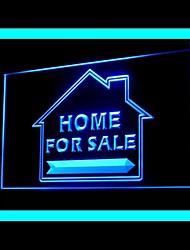 maison vendre la publicité conduit de lumière de signe