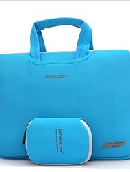 Solid Color   Portable Canvas Bag for 13.3 inch 14.6 inch 15.4 inch Macbook (Assorted Colors)