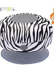 Zebra BST-06 portátil à prova d'água do chuveiro Stereo Bluetooth Wireless Mini Speaker com microfone