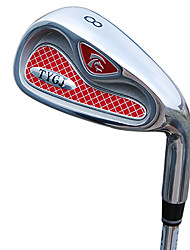 TTYGJ High-Performance Golf Club Männer 36,5 Zoll 8 # R-Zink-Legierung Kopf-Stahlwelle Red Notwasserung Niblick