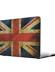 "Fashion Union Jack Flip-open Protect Case for 15.4"" Macbook Retina"