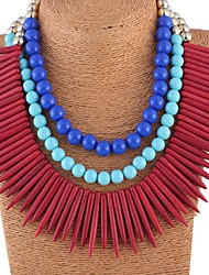 Sally Women's Luxury Punk Style Turquoise Necklace