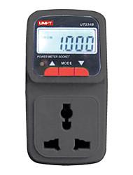 UNI-T UT230B Многофункциональный измеритель мощности Гнездо энергии / Счетчик электроэнергии ЖК A / V Номинальное напряжение 220В/50Гц